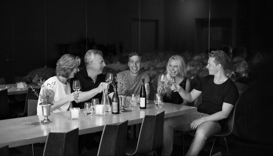 Bo`teca di Vino zu Besuch im Weingut Wöhrwag